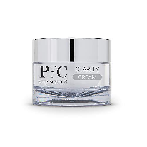 PFC Cosmetic Tages-Feuchtigkeitscreme Clarity Cream 50 ml mit Hydroviton®, Glykosaminoglykanen, Melan'owhite®, Vitamin C+ Complex, Vitamin B3 und Miniporyl® für die Pflege...