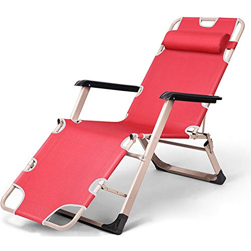 Silla de gravedad cero cómoda y transpirable Los ataques de cama de múltiples funciones portable de la gravedad cero silla de playa portátil simple retráctil acogedor plegable Hora de la almuerzo de l