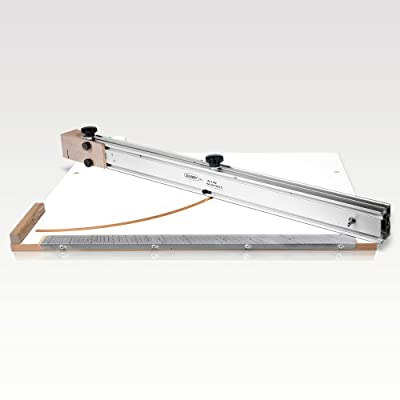The Original Dubby Cut-Off Sled for Cutting Accurate Miters On A Table Saw (Right Side) from Peachtree Woodworking Supply Inc.