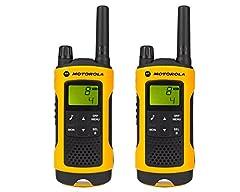 Motorola TLKR T80 Extreme PMR radio enligt IPx4 (väderbeständig, räckvidd upp till 10 km)