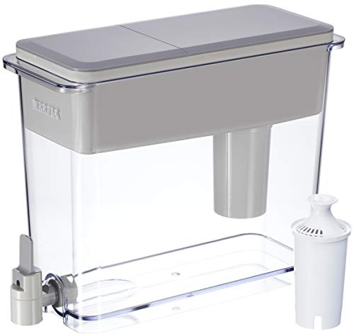 Brita 18 Cup UltraMax Water Dispenser with 1 Filter, BPA Free,...