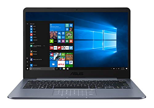 ASUS Vivobook E406MA-BV280TS PC Portable 14'' (Intel Celeron N4000, RAM 4Go, 64Go EMMC, Windows 10 Home S, Pack office inclus) Clavier AZERTY Français