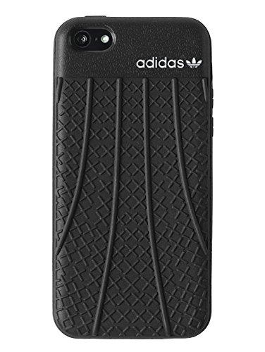 Adidas Moulded Case - Funda flex para Apple iPhone 5C, negro