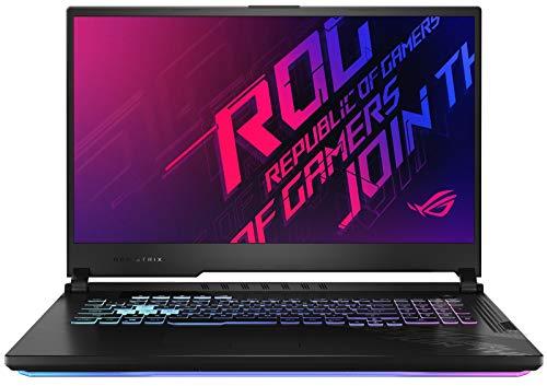 ASUS ROG Strix G17 17.3' Full HD 120Hz Gaming Notebook Computer, Intel Core i7-10750H 2.6GHz, 8GB RAM, 512GB SSD, NVIDIA GeForce GTX 1660 Ti 6GB, Windows 10 Home, Black