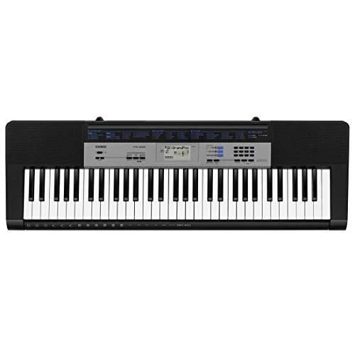 Casio CTK-1500-Keyboard, color Negro