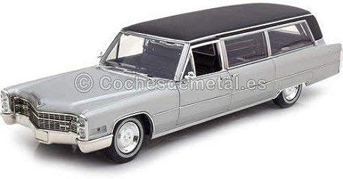 nuevo sádico 1966 Cadillac S-S Limo Funebre plata 1 18 verdelight verdelight verdelight Precision Collection 18005  gran descuento
