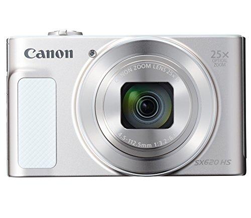Canon コンパクトデジタルカメラ PowerShot SX620 HS ホワイト 光学25倍ズーム Wi-Fi対応 PSSX620HSWH