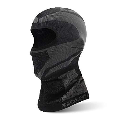 JZJSZB Balaclava Ski mask Windproof Ski Mask Motorcycle Face Scarf, Cycling Outdoor Sports Thermal Windproof (Color : M, Size : Medium)