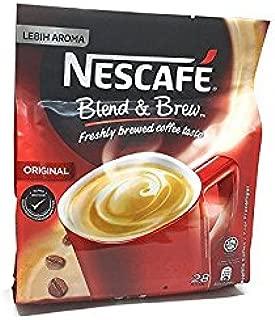2 PACK - Nescafe Blend & Brew 3 in 1 Original 56 Sticks total