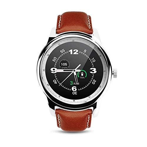 LYDB LYDB Uhren 1,33 Zoll On-Cell IPS Vollansicht Kapazitiver Touchscreen MTK2502A-ARM7 Bluetooth 4.0 Smart Watch Phone, Unterstützung Facebook/Whatsapp/Erhöhen auf Hellen Bildschirm/Flip Hand auf