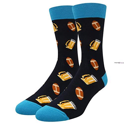 Eletina twinkle Damen-Socken, lustig, verrückt, für Mädchen, Taco, Pizza, Donut, Ananas, Crew-Socken, Unisex, Bierkugel, Einheitsgröße