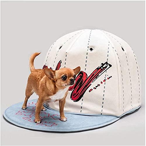 Rcsinway Letto per animali domestici, per animali domestici, da calcio, da baseball, in tela di PVC, per animali domestici, per gatti, Natale, caldo, inverno, cuccia per cani e gatti, colore: C)