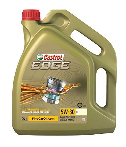 5W30 Castrol Longlife Motoröl für den Ölwechsel beim Škoda Fabia