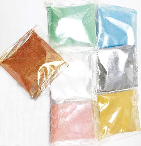Lebensmittelfarbe Pulver 7 x 5g Metallic
