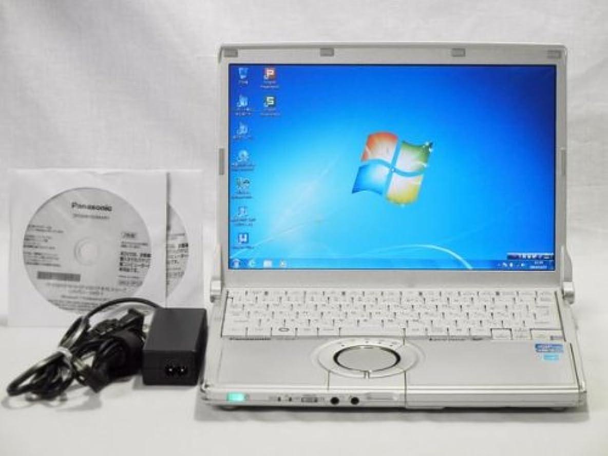出来事ひばり大惨事【中古】 Panasonic Let's note N10 (CF-N10EWHDS) i5 2540M(2.6GHz) メモリー4GB HDD320GB 無線 64Win7 リカバ付