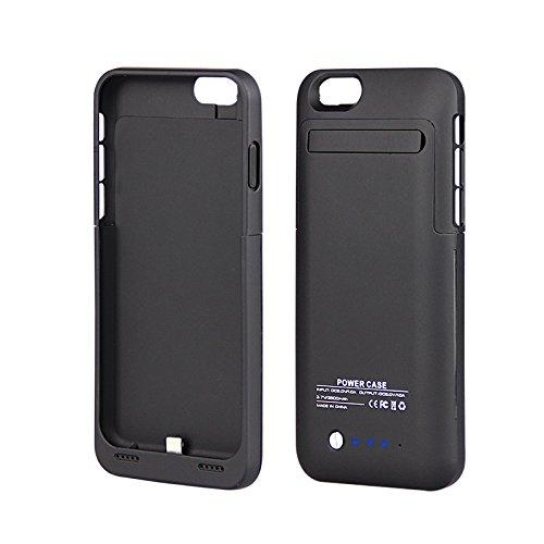 L-link LL-AM-116 - Carcasa para Apple iPhone 6 (con batería de 3500 mAh), Color Negro