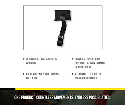 TRX Training - Door Anchor, Simple, Portable Anchor Attaches to Any Solid Door Without Damaging Paint or Wood