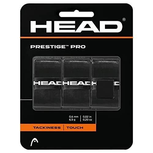 Head Prestige Pro Overwrap Grip, Unisex Adulto, Negro, M