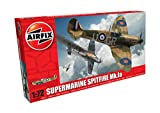 Airfix-1/72 Supermarine Spitfire MkIa Model, Color Gris (Hornby Hobbies LTD A01071B)
