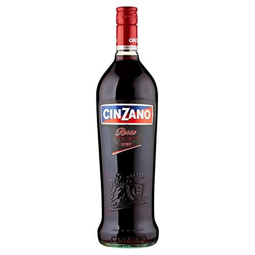 Cinzano Vermouth Rosso - 6 botellas x 1000 ml - Total: 6000 ml