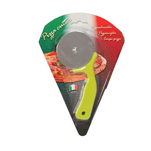 A.I.E. Culinario - Cortador de Pizza (16 cm), Color Verde, Verde, 16 cm