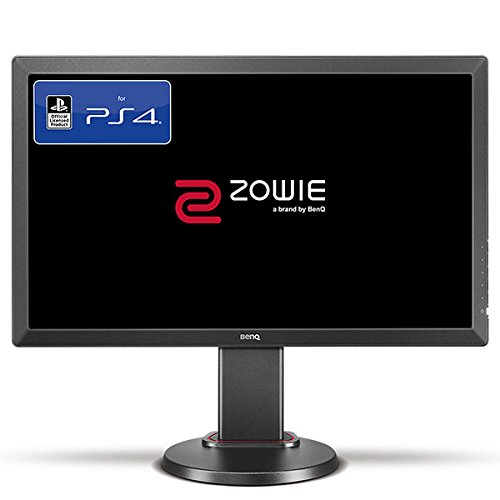 BenQ ZOWIE RL2460 24 Inch Console e-Sports Gaming Monitor (Officially Licensed for PS4/PS4 Pro, Head-to-Head Combat Station Setup), 1ms, Dark Grey [Vecchio Modello]