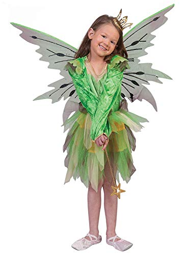 Funny Fashion Disfraz elfo del bosque nia