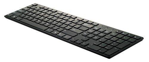 Emprex 6310U, Ultra Slim Chiclet Keyboard, USB, US-Layout QWERTY, schwarz