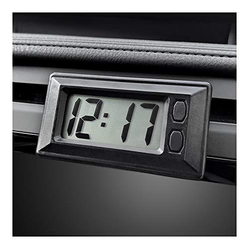 Pantalla ornamento del coche del automóvil Reloj Digital LCD reloj automático el vehículo auto de la decoración interior auto-adhesivo Adhesivo ultra-delgado
