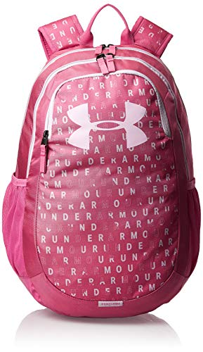 Under Armour Scrimmage Backpack 2.0, Pace Pink (669)/Pink Fog, One Size Fits All