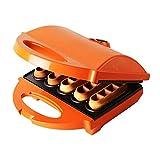 YFGQBCP Máquina de Fabricante de gofres belgas sin Goteo para Waffles, Browns Hash, o Cualquier Desayuno, Almuerzo y bocadillos con fácil Limpia, Antiadherente