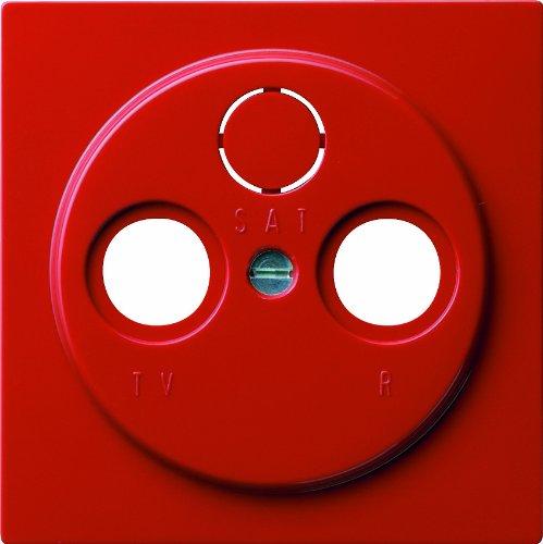 Gira 086943 afdekking antenne-contactdoos S, rood