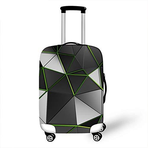 WSJMJ Home - Funda elástica para maleta, protege el equipaje y el polvo, para maleta, para maleta, suitcase (Fit 18'-32' Suitcase),B, S