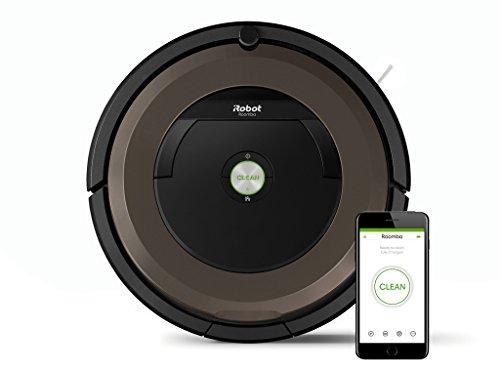 iRobot Roomba 8960.6L Black, Brown Vacuum Cleaner Robotic Vacuum Cleaner–robotizadas (0.6L, Black, Brown, Aeroforce, Rug, Hard Floor, Laminated, Lithium-Ion (Li-ion), 60min)