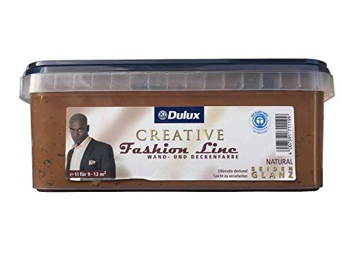 Dulux Creative Fashion Line 1l Wand und Deckenfarbe, seidenglanz mit FARBWAHL (Natural)
