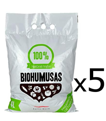 Fertilizante Orgánico - Puro Humus de Lombriz de Baltic Worm | Natural Fertilizante...