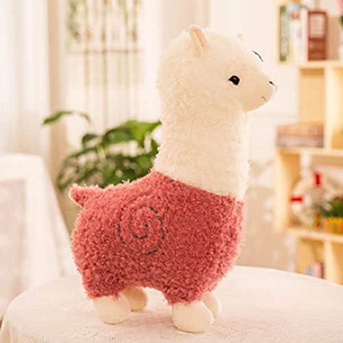 QYBKJDS 28cm New Alpaca Plush excellence half Toy Doll S Cute Animal Soft Cotton