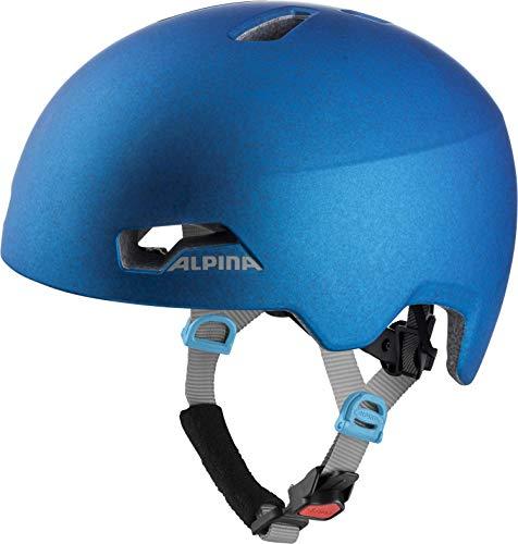 ALPINA HACKNEY Fahrradhelm, Kinder, blue, 51-56
