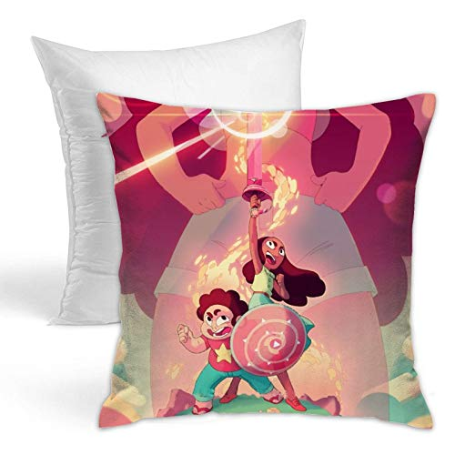 Steven Cool Universe Throw Pillows Stylish Cushion Covers Home Decor Hold Pillow for Living Room Couch Bedroom 18x18 Inch