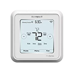 Follow the instructions in your owner's manual or installation guide when installing this part Wi-Fi control thermostat TH6220WF2006/U lets you control the air conditioner and furnace temperature and fan speed settings Genuine Original Equipment Manu...