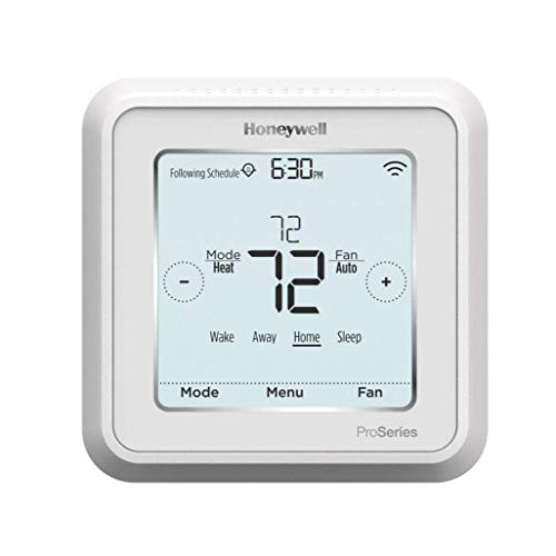 Honeywell TH6220WF2006/U Lyric T6 Pro Wi-Fi Programmable Thermostat with Stages Up to 2 Heat/1 Cool Heat Pump or 2 Heat/2 Cool Conventional Kentucky