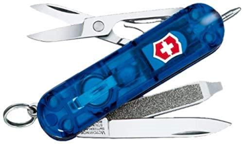Victorinox Canivete de bolso Swiss Army Signature Lite, safira, 58 mm