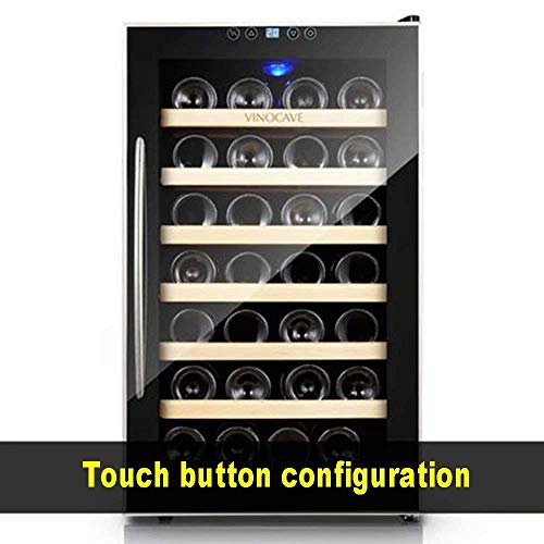 Weinkeller - 28 Flasche Thermoweinkühler, Elektronische konstante Temperatur Weinkühler/Haushalt konstante Temperatur Weinkühler/Ice Bar/Weinflaschenkühler lalay