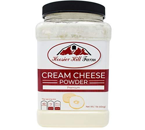 Hoosier Hill Farm Cream Cheese powder, 1 Lb. Gluten Free and rBGH and rBST free.