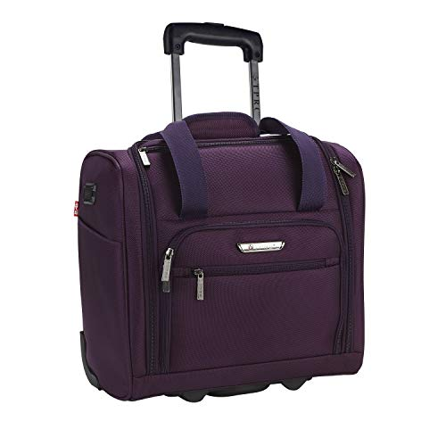 Travelers Club 15' Under Plane Set Carry-On, Purple, Club
