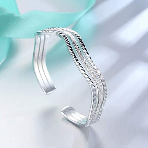 Pulsera SMEJS, pulsera ondulada, nicho femenino, joyería salvaje para el Día de la madre, regalo de cumpleaños práctico para mamá, novia, mujer