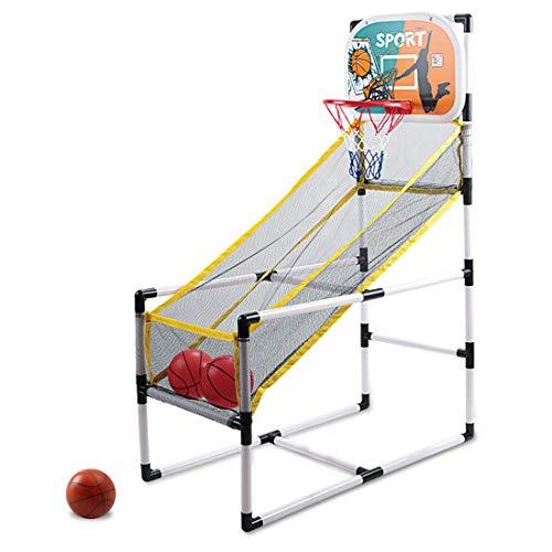 YOU339 Indoor Sports - Juego de baloncesto con aro para niños (desmontable)