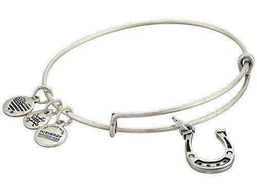 Alex and ANI Charity by Design, Horseshoe Bangle Bracelet Rafaelian Silver One Size