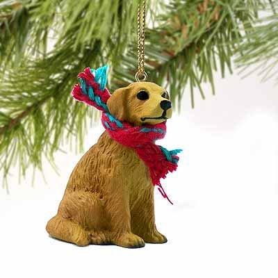 Figura de Perro Golden Retriever en Miniatura por Conversación Conceptos