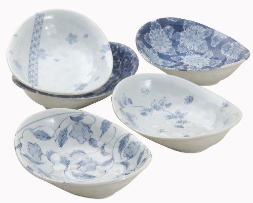 西海陶器『西海陶器波佐見焼 染付絵変り カレー皿』